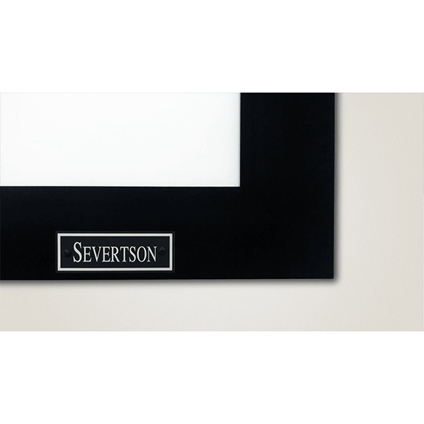 Severtson Deluxe Series Fixed Frame Projector Screen | AOE - Your ...