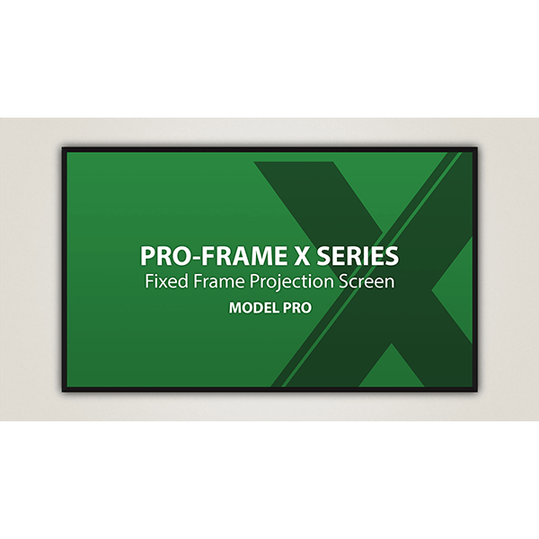 Severtson Pro-Frame X Fixed Frame Commercial Projector Screen