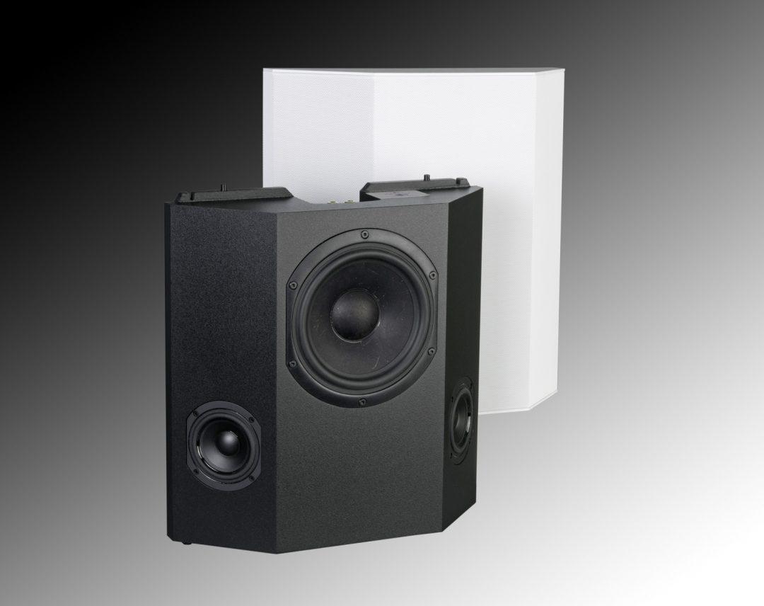 Triad Speaker On-Wall Silver Surround