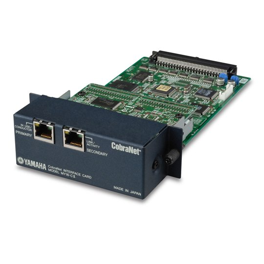 Yamaha Network I/O Card MY16-CII